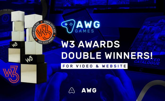 w3 awards awg games